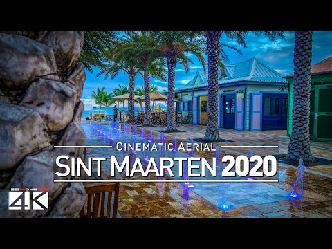 4K Drone Footage SINT MAARTEN and SAINT MARTIN [DJI Phantom 4]