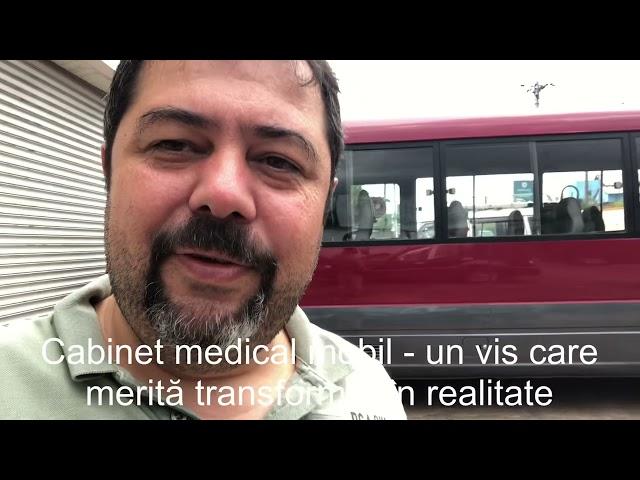 Minibus medical pentru Madagascar