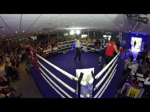 Ultra White Collar Boxing | Chester | Steve Hickman VS Carl Cameron