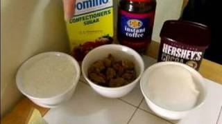 Easy Cappuccino Brownie Recipe : Ingredients For Cappuccino Brownies