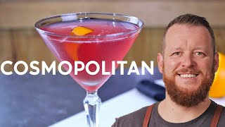 Cosmopolitan Cocktail Recipe + SLOW-MOTION FLAMED ZEST!!