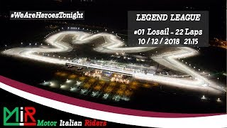 MotoGP 18 | Legend League | Round #01 | Losail | Live Streaming 1080p