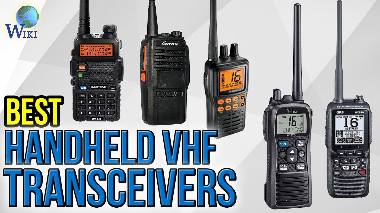 7 Best Handheld VHF Transceivers 2017