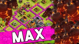 Clash of Clans :: ONLY LAVA HOUNDS :: IS THIS EVEN POSSIBLE :: MAX LAVA HOUNDS WRECK
