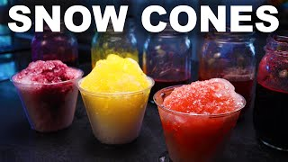 Shaved ice, snow cones, slushies, raspa, kakigri, patbingsu  whatever you want to call them