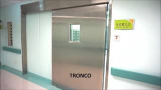 [TRONCO] Automatic Sliding heavy door 橫拉重型自動門