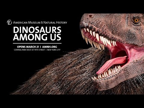 Dinosaurs Among Us Now Open