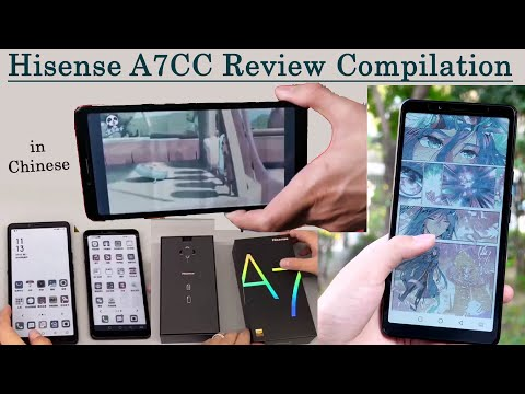 Hisense A7CC Review Compilation- Unboxing, Playing Videos, Comics, eReader, Compare with A5ProCC etc