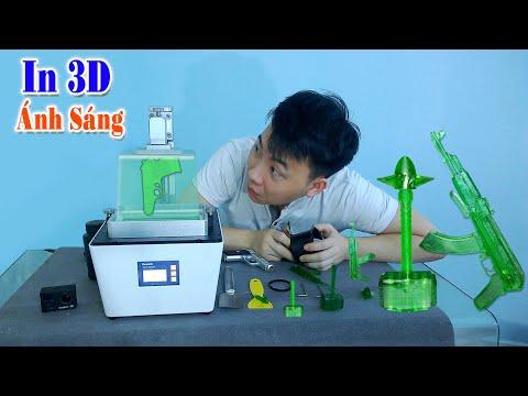 MỞ HỘP Máy In 3D Giá Rẻ Nhỏ Gọn In Cực Đẹp ( 3D Printer)