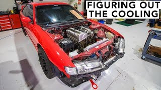 Cooling System Complete - Honda K-Swap 240SX