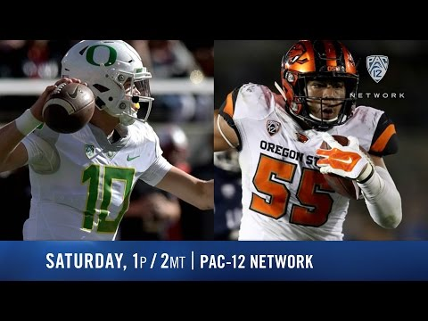 Oregon-Oregon State football game preview