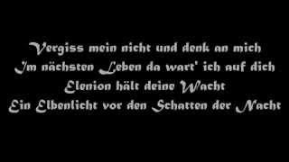 Oonagh und Santiano: Vergiss mein nicht (mit lyrics)