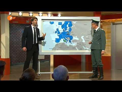 Die Anstalt - 18.11.2014 - Grenzschützer unter sich - Max Uthoff, Claus von Wagner