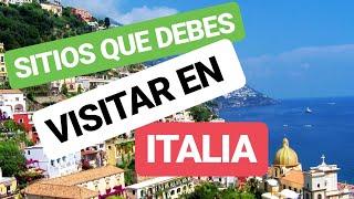 😲👉Las CIUDADES mas BONITAS de ITALIA ✅🌹 | VISITAR una CIUDAD ITALIANA | Que Hacer en ITALIA ✌