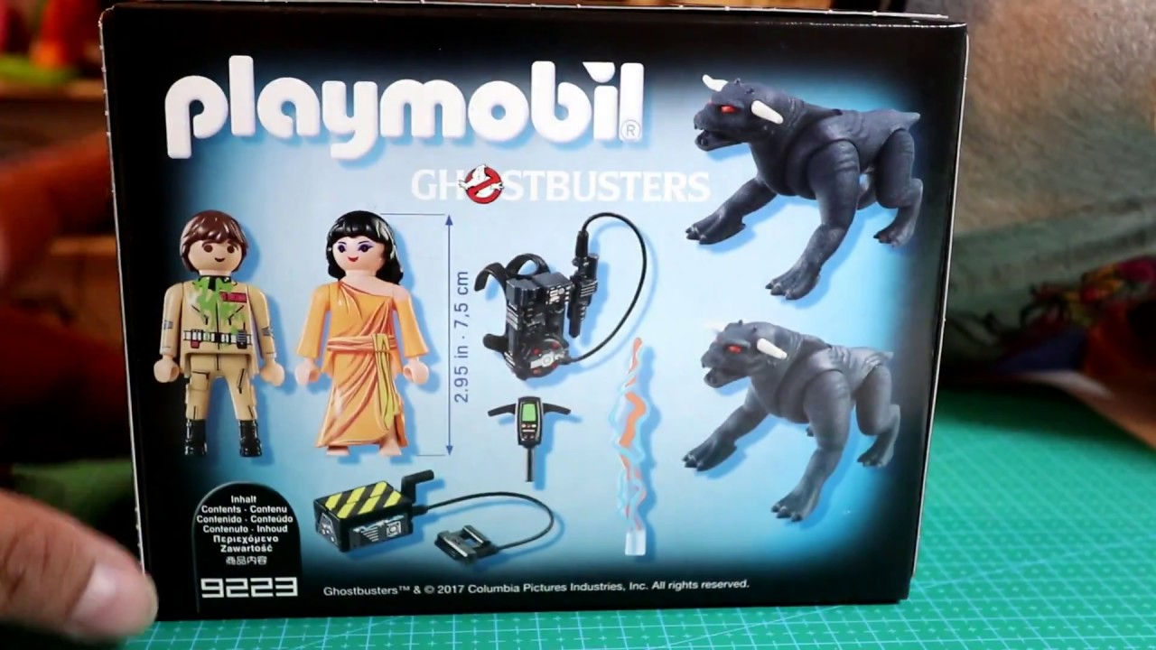 Playmobil Ghostbusters Venkman and Terror Dogs 9223 NEW