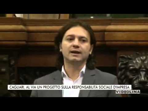 """Progetto """"Prince, Merchant and Citizen as One: CSR in Europe"""" - TG Sardegna, Videolina"""