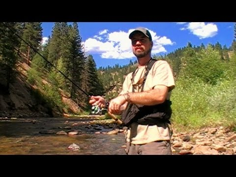 How To Fish Small Mountain Streams