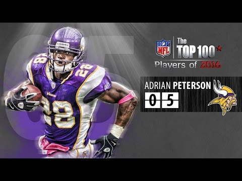 #05 Adrian Peterson (RB, Vikings) | Top 100 Players Of 2016