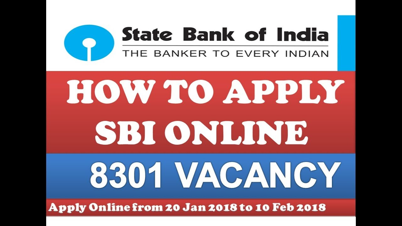 sbi clerk apply online 2018