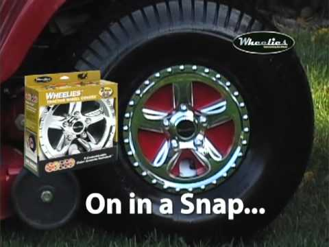 Wheelies Transform A Lawn Tractor