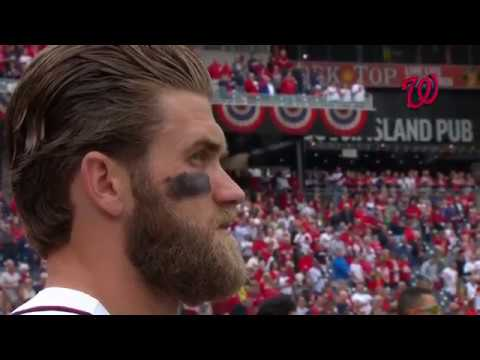 Nationals opening day ceremonies 2017