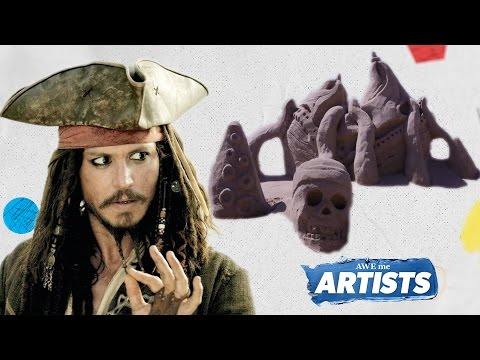 Pirates Of The Caribbean Sand Art - AWEme Artists