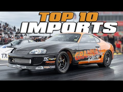 Top 10 Import Cars from 2019!