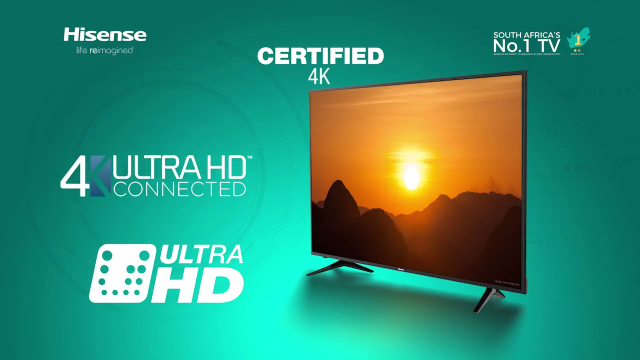 Hisense 58 inch 4K UHD LED Smart TV (58A6100UW)