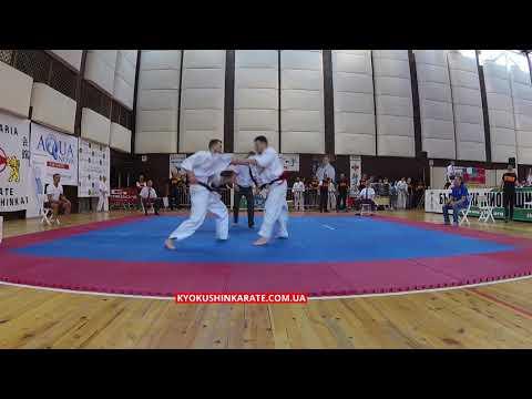 -70, 1/8 Oleksand Hrushenko (UKR) - Nikita Zherdiev (POL, aka) - The 32nd European Championship