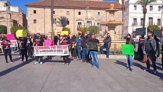Hosteleros de Mérida se ponen en huelga para reclamar ayudas