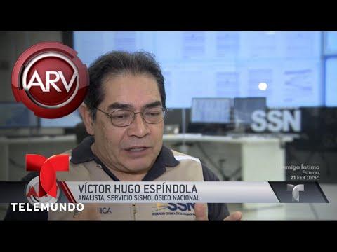 Pánico en México por nuevo sismo | Al Rojo Vivo | Telemundo