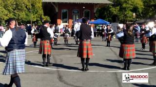 St. Columcille Pipe Band - 2014 Celtic Classic Grade 4 Medley