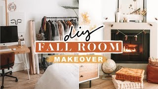 FALL APARTMENT MAKEOVER + DIY ROOM DECOR - Cozy + Minimal 🍂🍁🦊