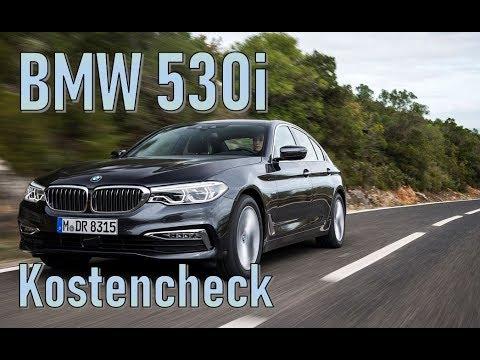BMW 530i (2018) Unterhaltskosten