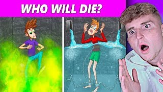 MESSED UP Mystery Riddles That Will SAVE YOUR LIFE..