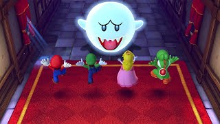 Mario Party 10 MiniGames - Luigi Vs Mario Vs Peach Vs Rosalina (Master Cpu)