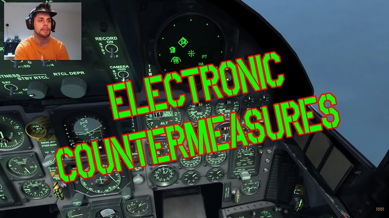 DCS: F-15C FC3 - Electronic Warfare, RwR, Jammer, Contramesures - #10  Tutorial - English subtitles