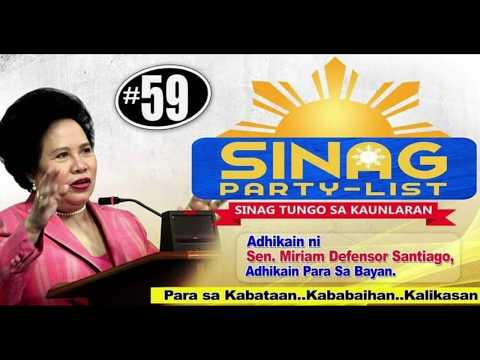 Sinag Party List (OFFICIAL CAMPAIGN JINGLE)
