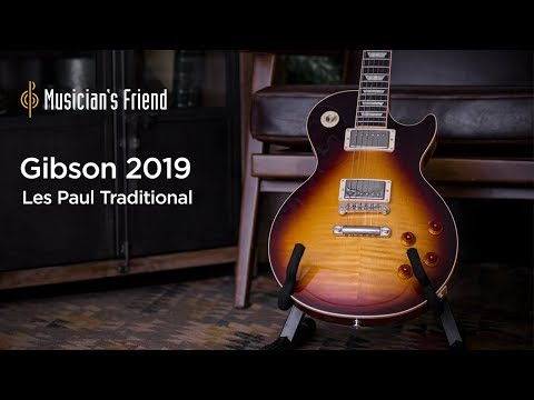 Gibson 2019 Les Paul Traditional Electric Guitar Demo