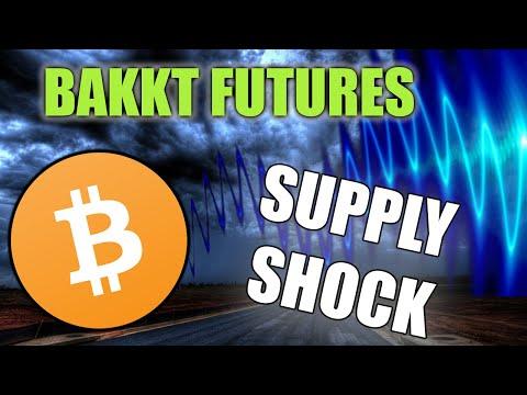 Bakkt Bitcoin Futures SUPPLY SHOCK - BTC Price Speed