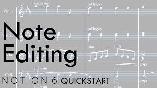 Notion 6 QuickStart 4: Note Editing