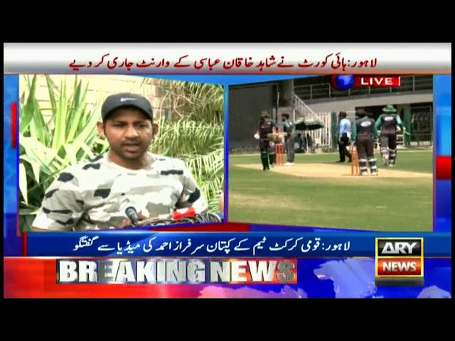'Match against India will be quite different from Champions Trophy' - Sarfraz Ahmed