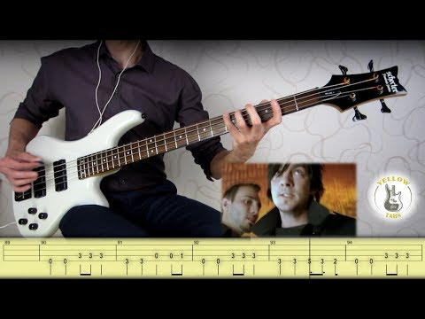 Three Days Grace - Animal I have become (Bass cover with Tabs)