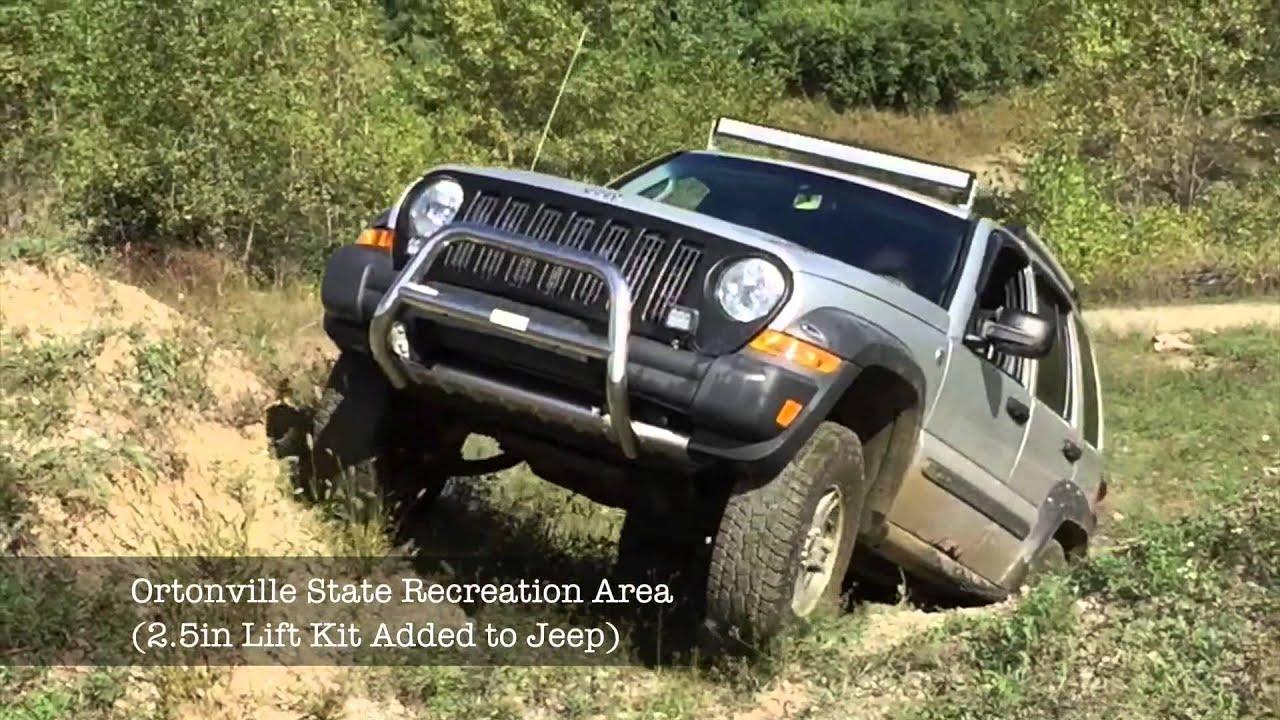 Jeep Liberty Kj Off Roading