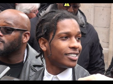 Fashion Week Paris 2014 2015 ASAP ROCKY  YouTube - Hairstyles For Box Braids