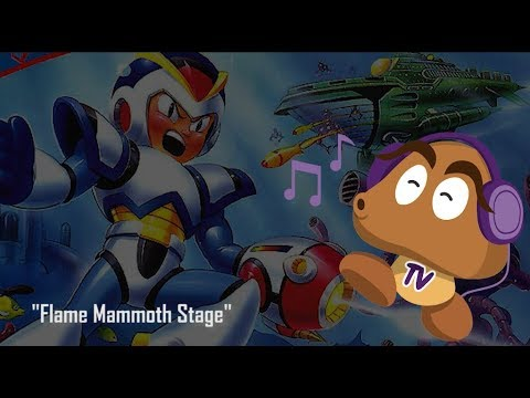 Mega Man X OST - Flame Mammoth Stage (HD Version)