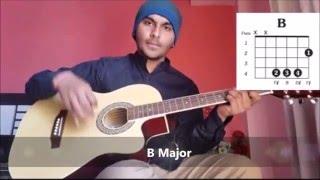 LEARN HOW TO PLAY LUKKA CHUPPI ON GUITAR TUTORIAL