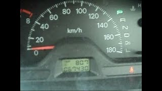 СПИДОМЕТР ЗАРАБОТАЛ!!! Митцубиси Лансер Цедиа GDI 4WD (MITSUBISHI LANCER CEDIA)