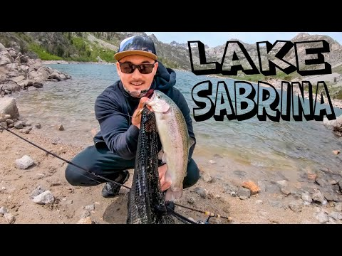 SABRINA LAKE FISHING | Bishop CA Fishing | TROUT FISHING