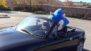 Homeless Lady x Sonic The Hedgehog Driving x Bloody Knee [Speedy Gonzalez Music Video Trailer 2]
